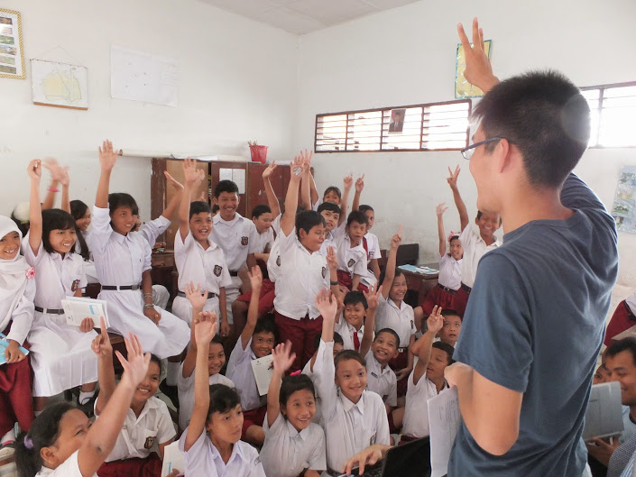 インドネシアでの授業の様子
